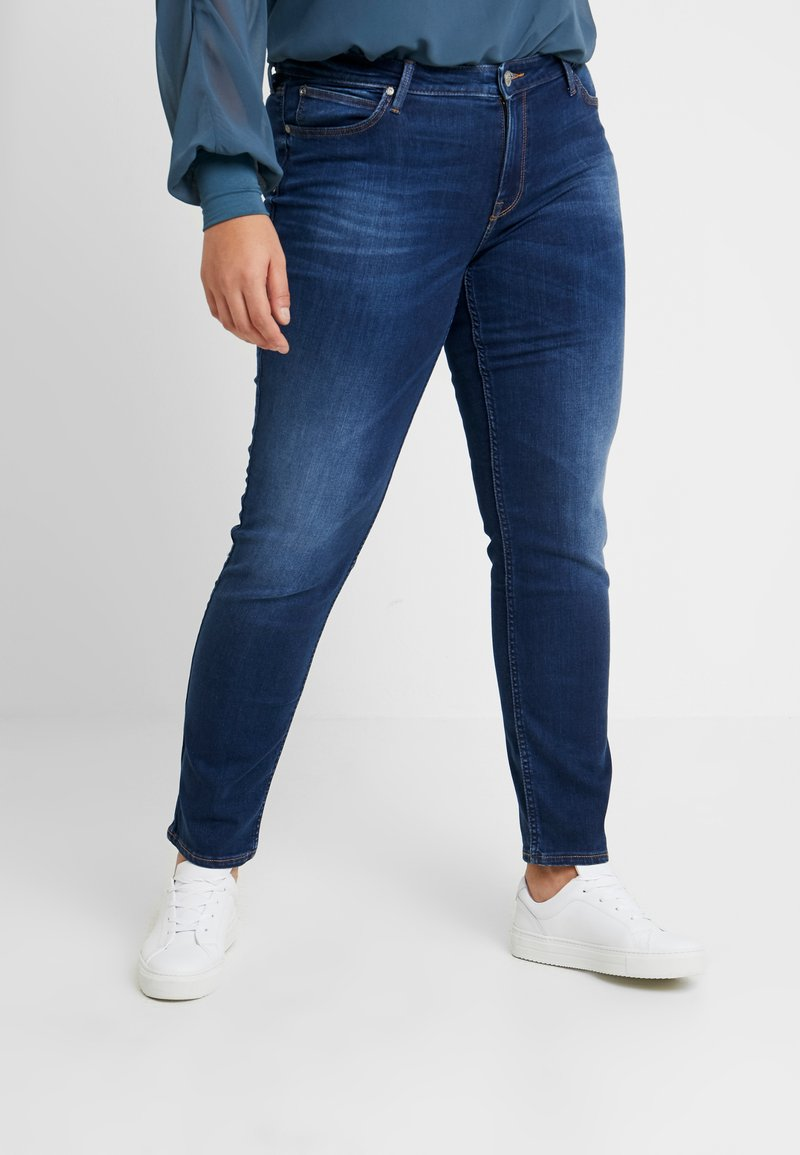 Lee Plus - MARION STRAIGHT - Straight leg jeans - night sky