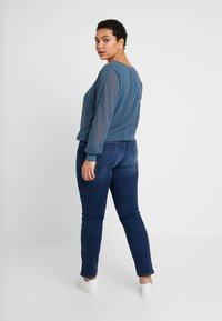 Lee Plus - MARION STRAIGHT - Straight leg jeans - night sky - 2