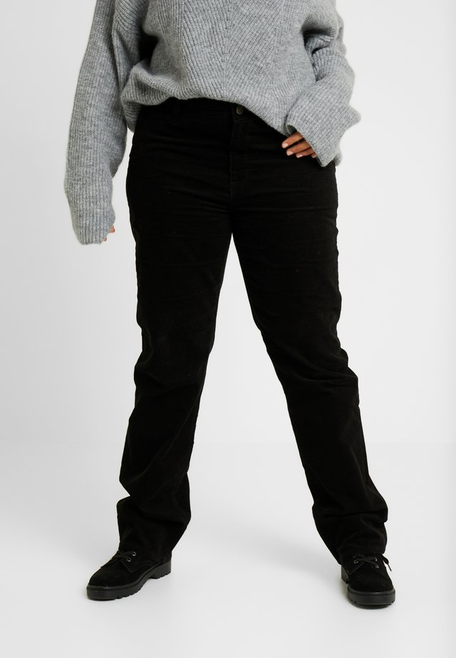 MARION STRAIGHT - Jeans Straight Leg - black