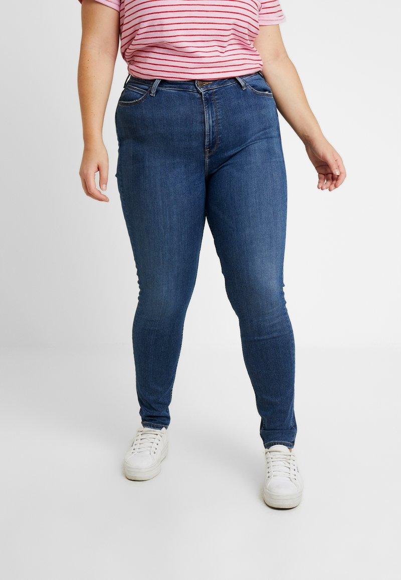 Lee Plus - SCARLETT HIGH - Jeans Skinny - mid copan