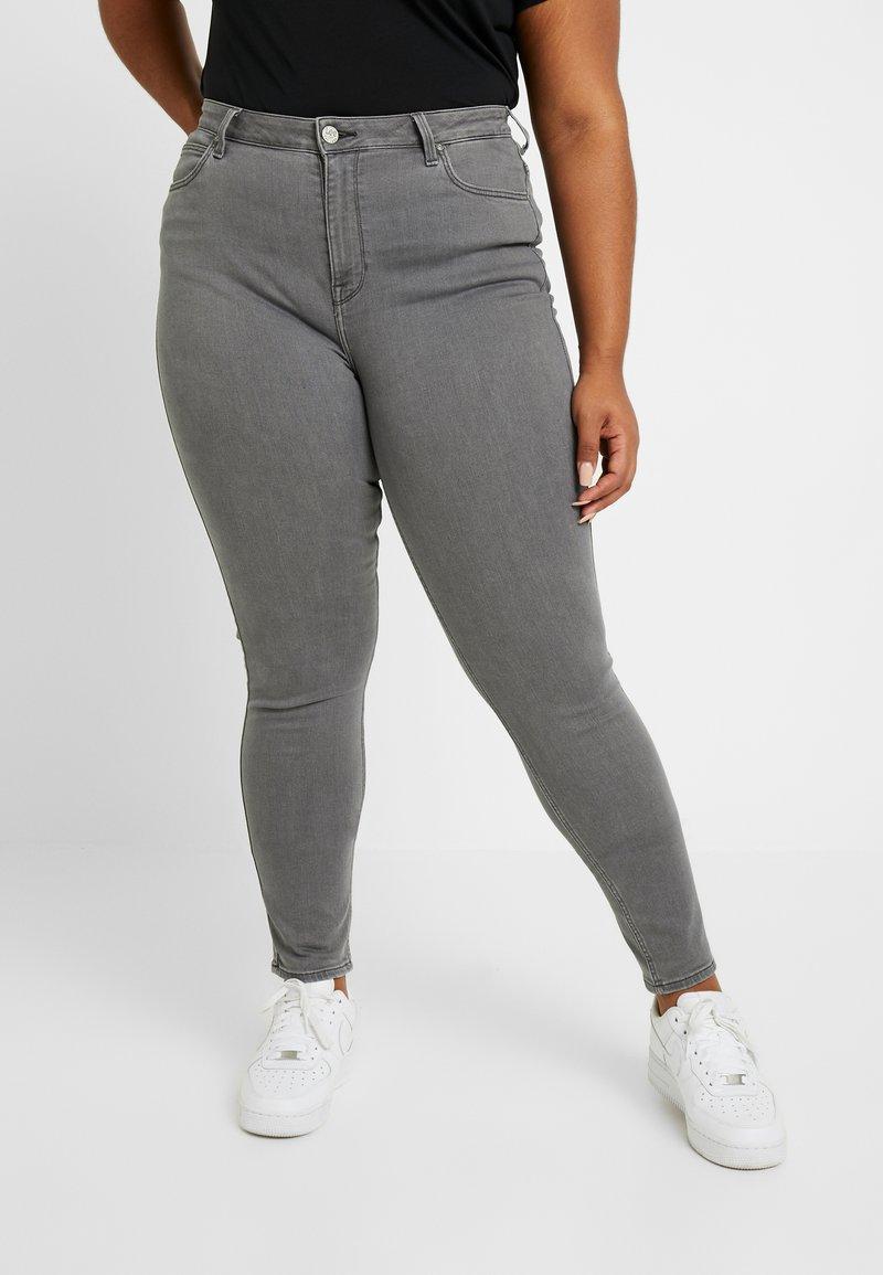 Lee Plus - SCARLETT HIGH - Jeans Skinny Fit - grey alma