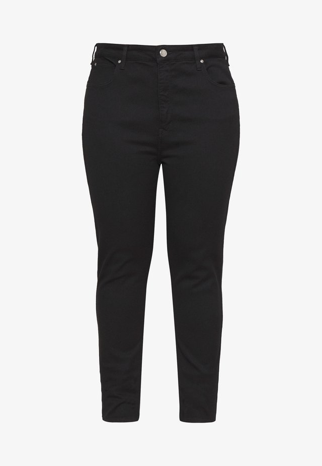 SUPER HIGH SCARLETT - Jeansy Skinny Fit - black