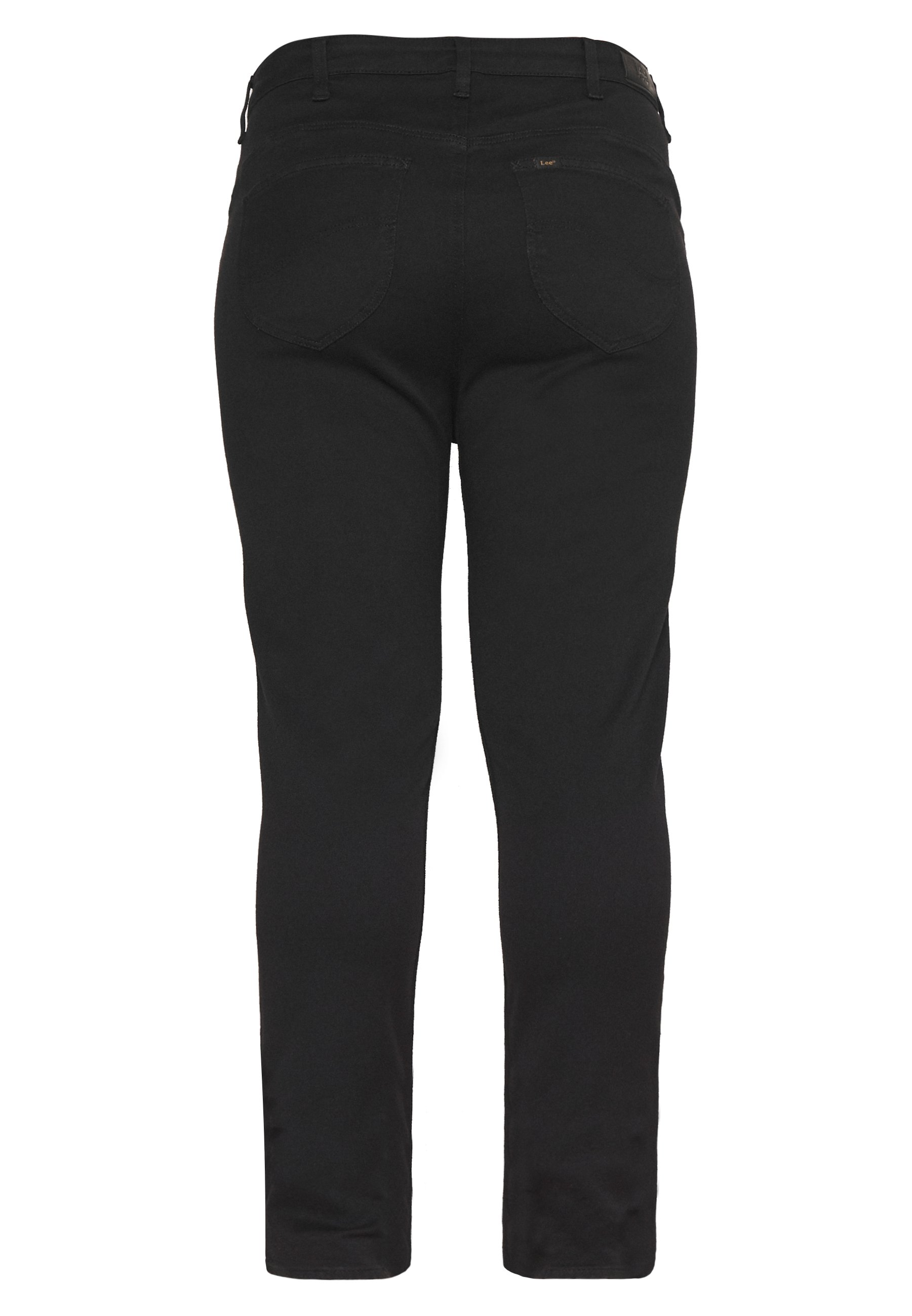 Lee Plus SUPER HIGH SCARLETT - Jeansy Skinny Fit - black