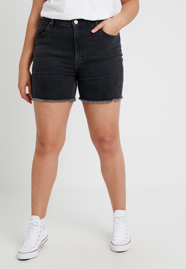 BOYFRIEND  - Denim shorts - black