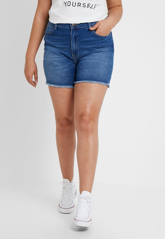 BOYFRIEND  - Jeans Shorts - blue drop