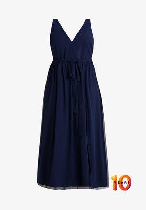 ROSE NECK MAXI DRESS - Společenské šaty - navy
