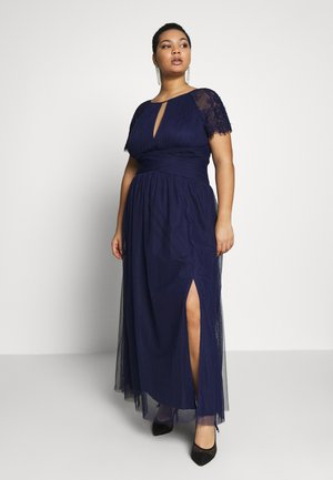 MAXI TRIMS - Abito da sera - navy