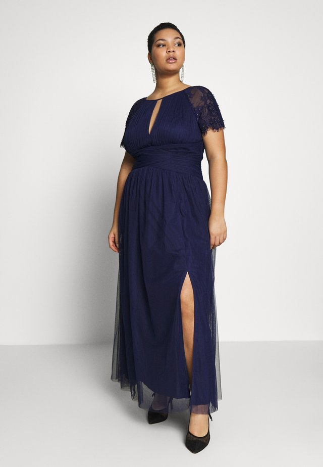 MAXI TRIMS - Ballkjole - navy