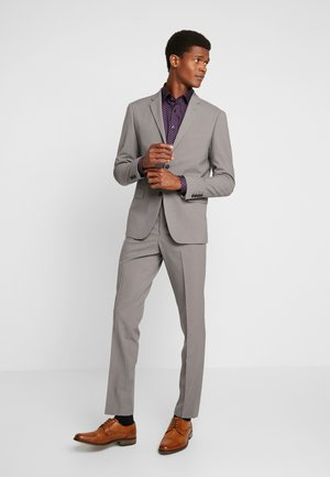 PLAIN MENS SUIT SLIM FIT - Garnitur - sand melange