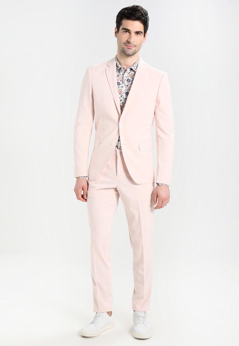 Lindbergh - PLAIN MENS SUIT SLIM FIT - Kostym - rose