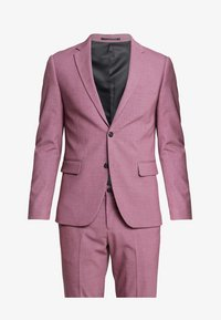 dusty pink melange