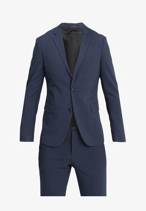 PLAIN MENS SUIT SLIM FIT - Jakkesæt - blue melange