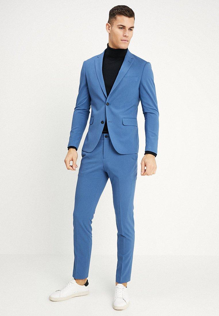 Lindbergh - PLAIN MENS SUIT SLIM FIT - Suit - mid blue