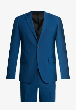 PLAIN MENS SUIT SLIM FIT - Costume - deep blue