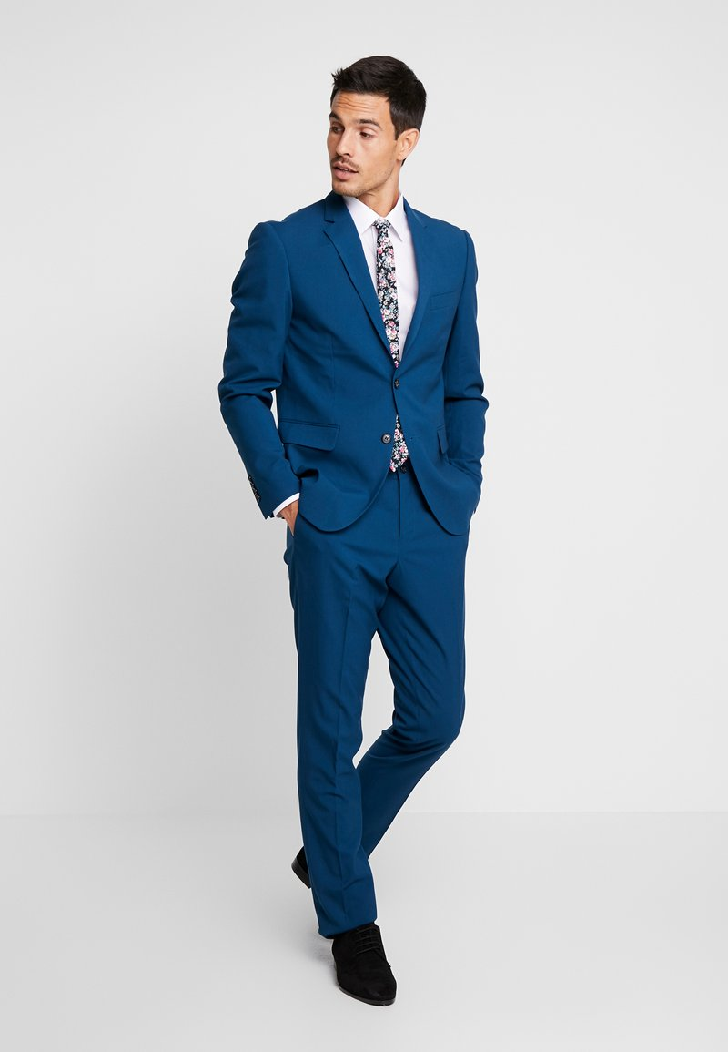 Lindbergh - PLAIN MENS SUIT SLIM FIT - Jakkesæt - deep blue