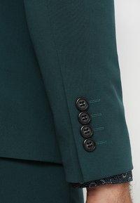 Lindbergh - PLAIN MENS SUIT SLIM FIT - Kostuum - dark green - 9