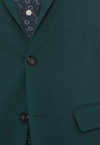 Lindbergh - PLAIN MENS SUIT SLIM FIT - Kostuum - dark green - 8
