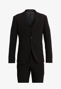 Lindbergh - PLAIN MENS SUIT SLIM FIT - Oblek - black - 8
