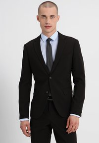 Lindbergh - PLAIN MENS SUIT SLIM FIT - Oblek - black - 2