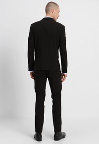 Lindbergh - PLAIN MENS SUIT SLIM FIT - Oblek - black - 3