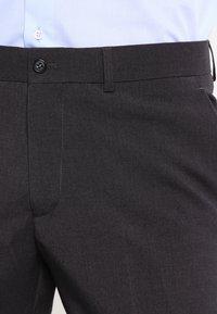 Lindbergh - PLAIN MENS SUIT SLIM FIT - Oblek - dark grey - 7