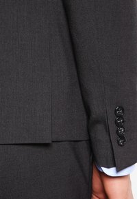 Lindbergh - PLAIN MENS SUIT SLIM FIT - Oblek - dark grey - 6