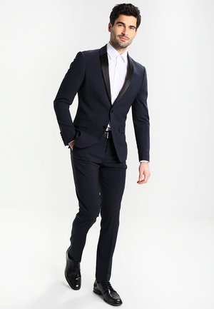 TUX SLIM FIT - Puku - navy