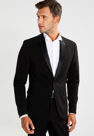 TUX SLIM FIT - Puku - black