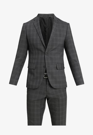 MENS SUIT SLIM FIT - Oblek - grey check