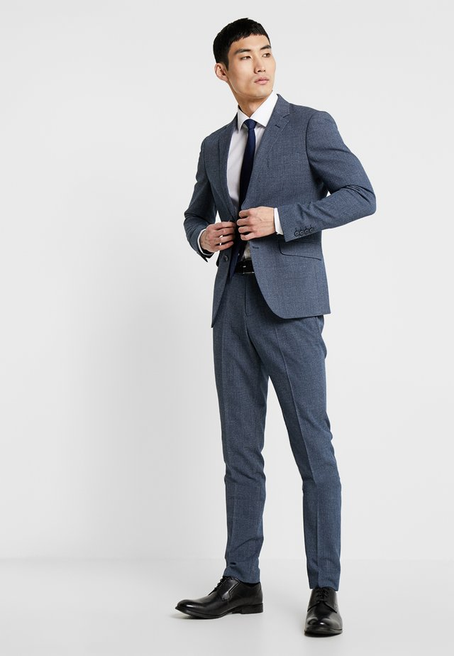 STRUCTURED SLIM - Suit - blue