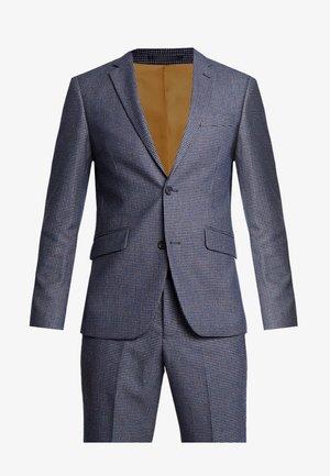 CHECKED SUIT - Anzug - black