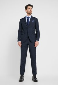 Lindbergh - HOUNDSTOOTH SUIT - Oblek - dark blue - 0