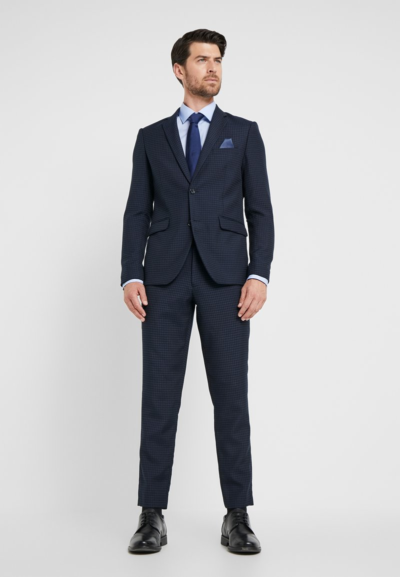Lindbergh - HOUNDSTOOTH SUIT - Oblek - dark blue