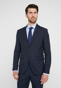 Lindbergh - HOUNDSTOOTH SUIT - Oblek - dark blue - 2