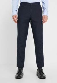 Lindbergh - HOUNDSTOOTH SUIT - Oblek - dark blue - 4