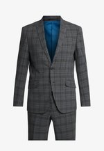 CHECKED SUIT - Oblek - dark grey