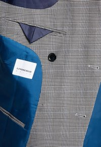 Lindbergh - CHECKED SUIT - Costume - grey - 6