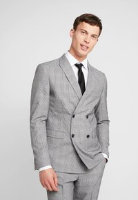 Lindbergh - CHECKED SUIT - Costume - grey - 2