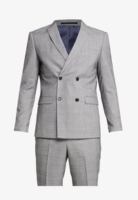 Lindbergh - CHECKED SUIT - Costume - grey - 9