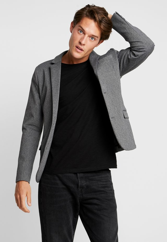 Blazer jacket - grey mix