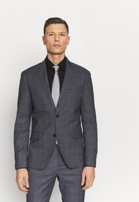 Lindbergh - CHECKED SUIT - Oblek - grey check - 2