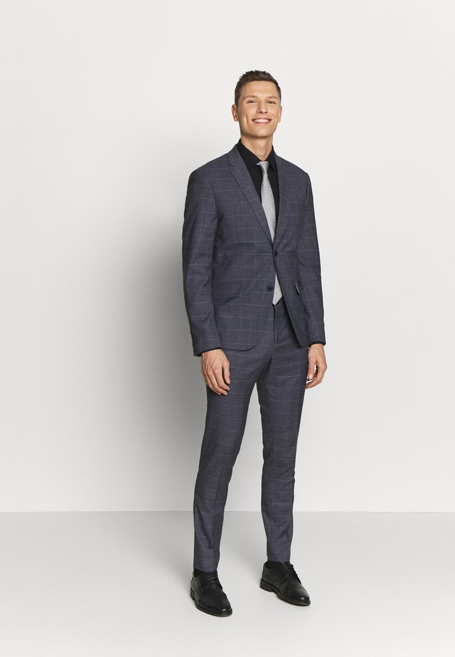 CHECKED SUIT - Costume - grey check