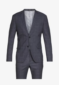 Lindbergh - CHECKED SUIT - Oblek - grey check - 8