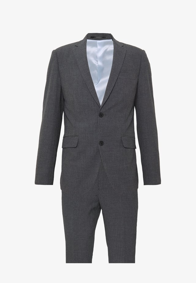 CHECKED SUIT - Puku - grey