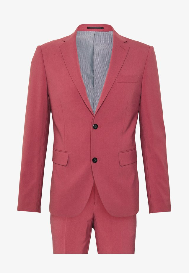 PLAIN MENS SUIT - Suit - dusty rose