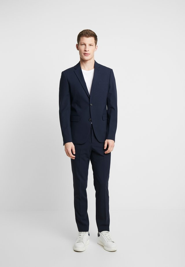 PLAIN MENS SUIT - Completo - navy