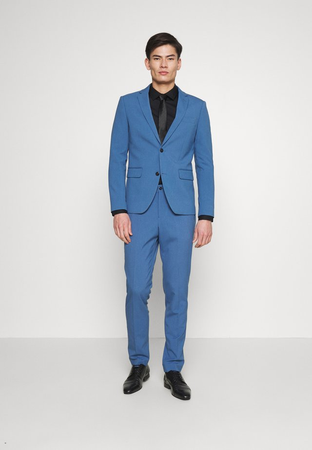 PLAIN SUIT - Suit - mid blue