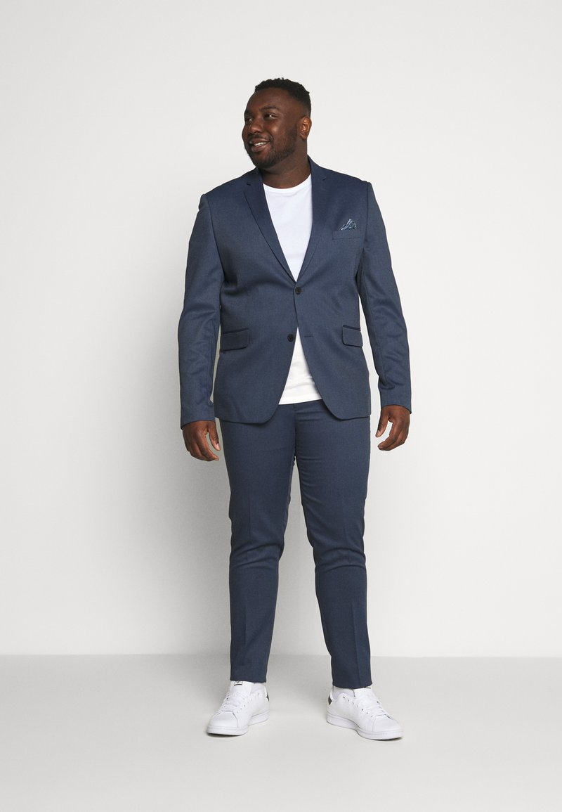Lindbergh - STRUCTURE SUIT  - Garnitur - blue