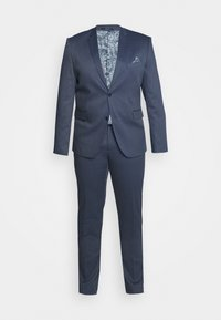 Lindbergh - STRUCTURE SUIT  - Garnitur - blue - 9
