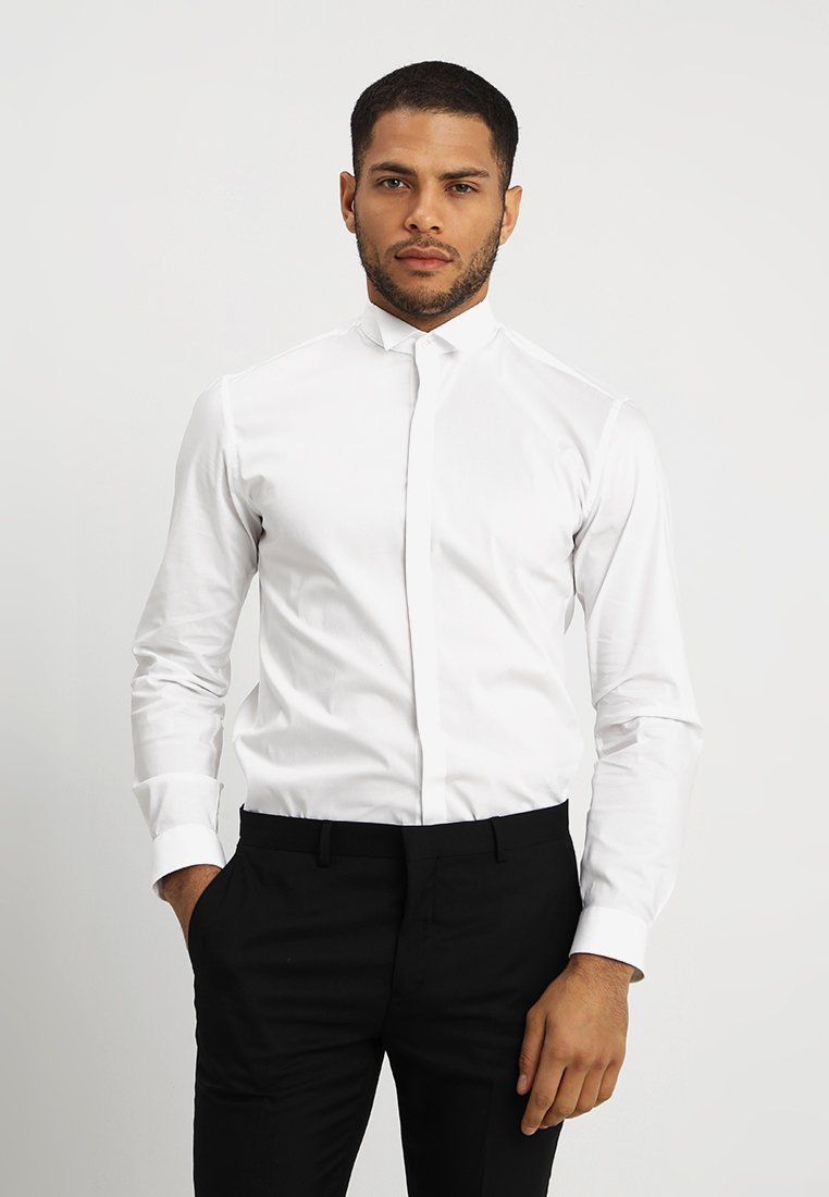 Lindbergh - TUXEDO SLIM FIT - Camisa elegante - white